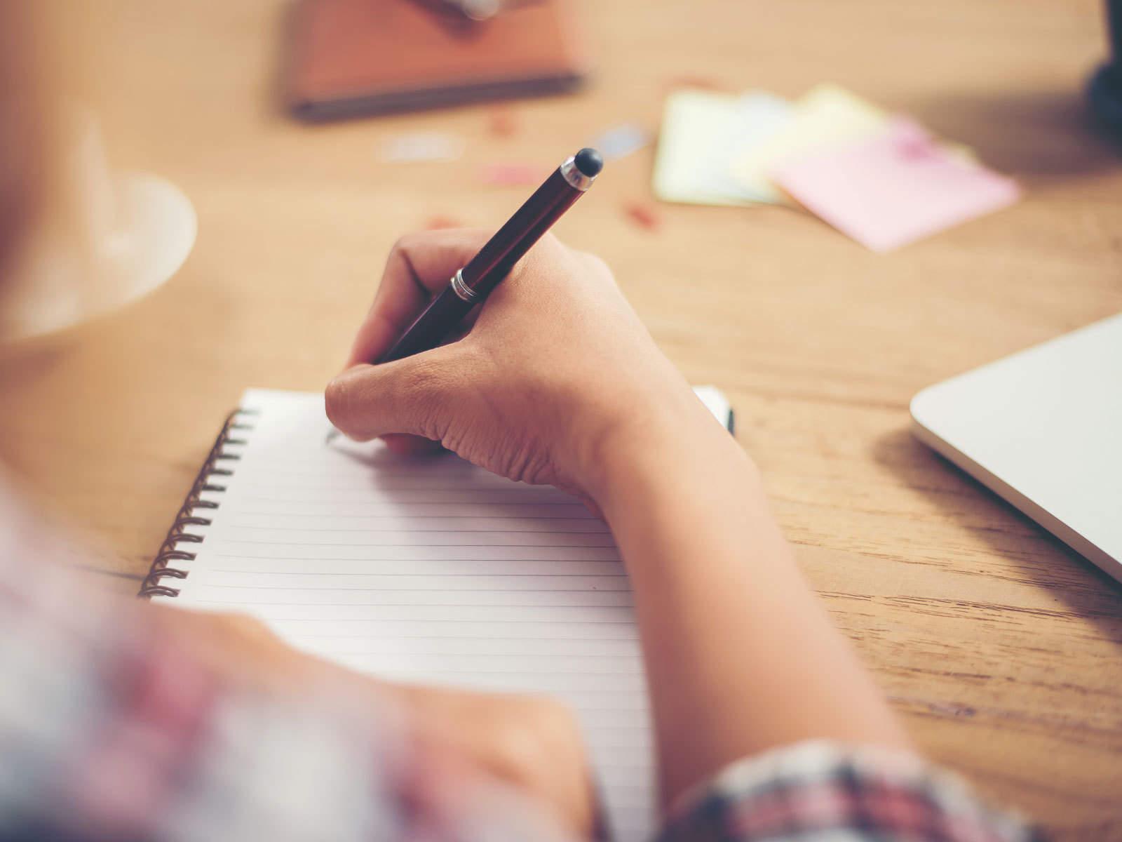 Per me è più semplice scrivere