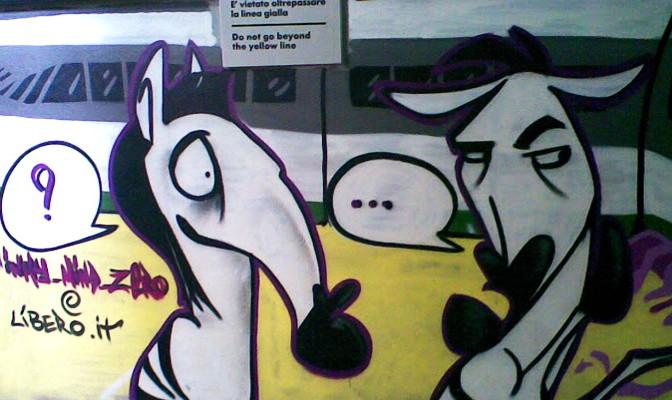 Graffiti Zebre Stazione Rifredi
