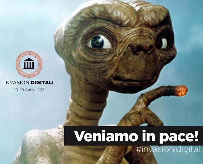 Veniamo in pace! #invasiondigitali