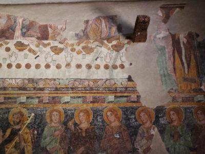 Affreschi - Castello Malaspina