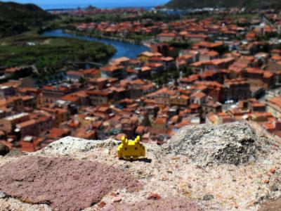Veduta di Bosa dal Castello Malaspina