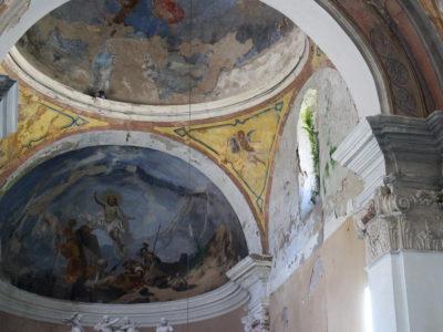 Chiesa di Santa Croce - Affreschi