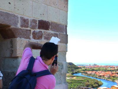 Invasore al Castello Malaspina di Bosa