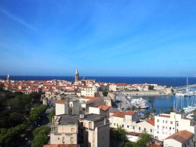 Veduta di Alghero dal Blau Sky Bar
