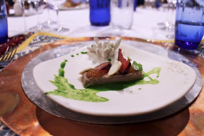 S'Apposentu di Roberto Petza - Lingua, prezzemolo, frutta e mandorle